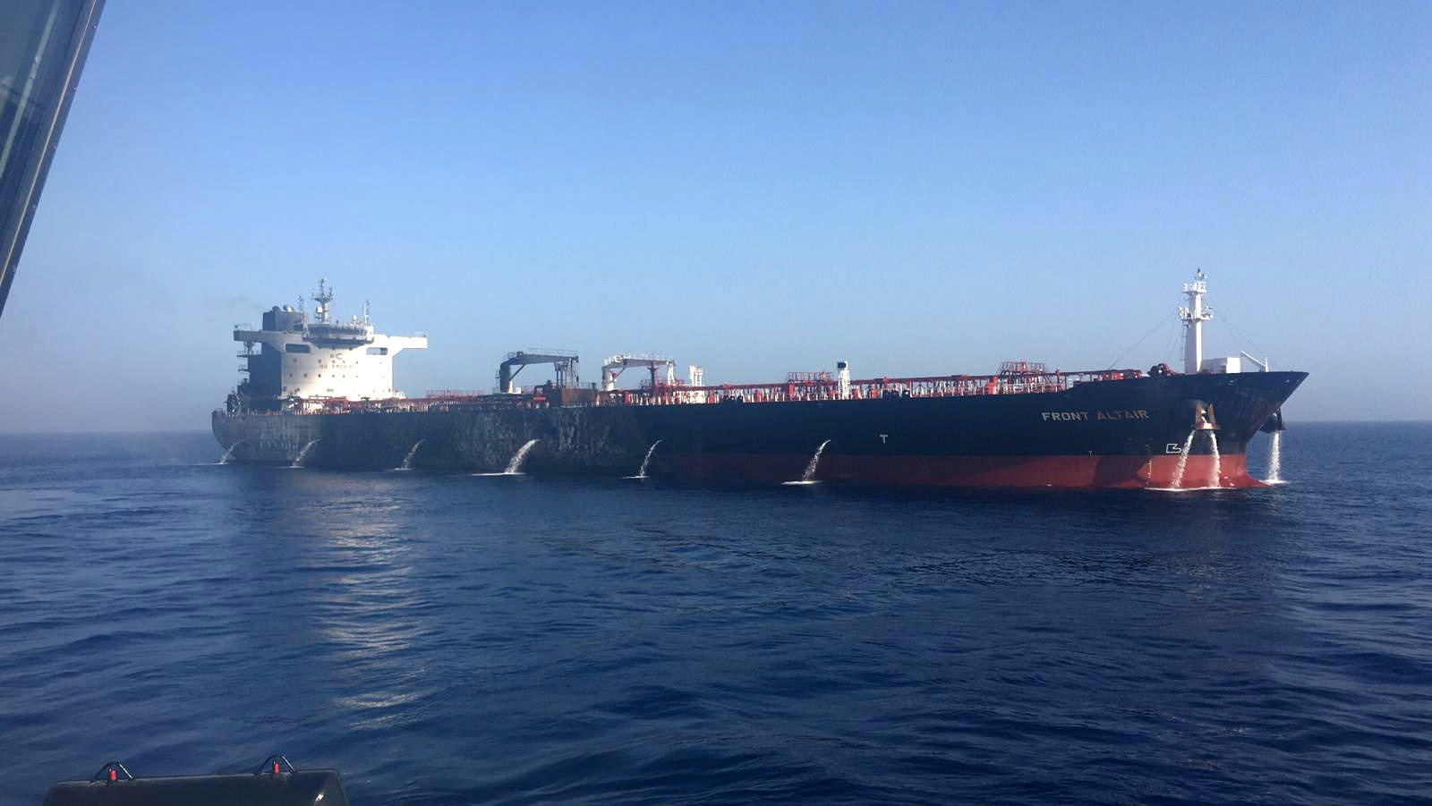 Image result for oil tankers in the gulf