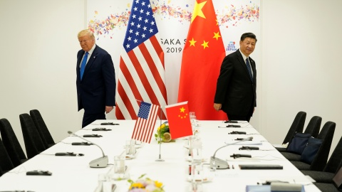 U.S. President Donald Trump attends a bilateral meeting with China's President Xi Jinping during the G20 leaders summit in Osaka, Japan, June 29, 2019. REUTERS/Kevin Lamarque - RC1B709E6A60