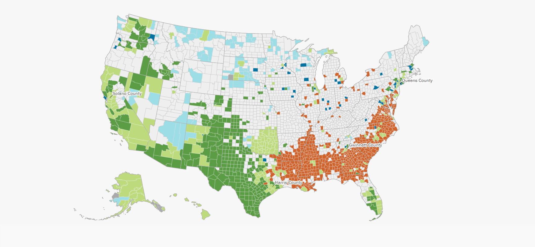 Picture of: Six Maps That Reveal America S Expanding Racial Diversity