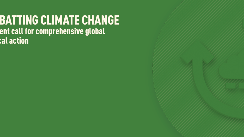 Africa Can Play A Leading Role In The Fight Against Climate Change