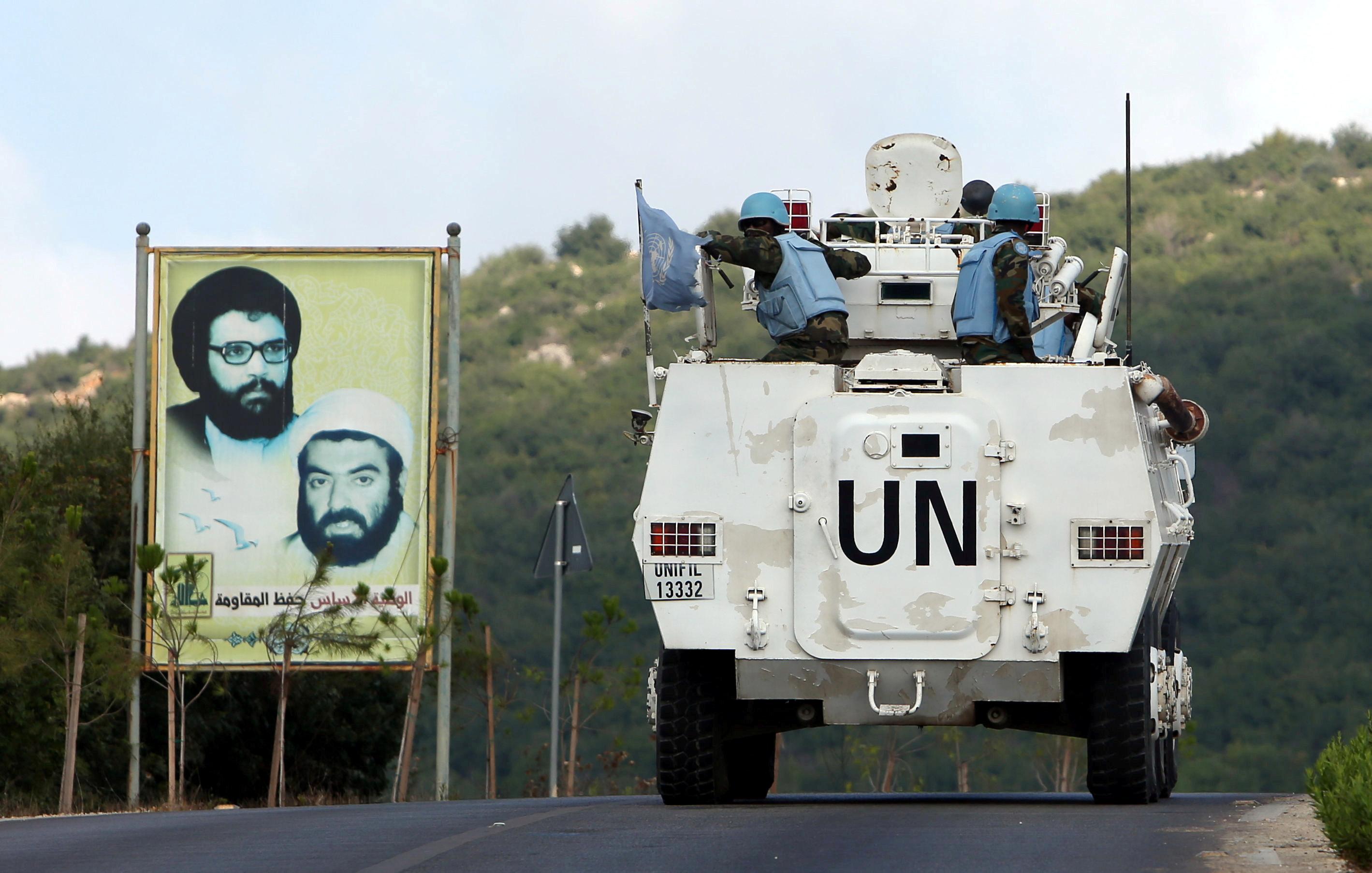 Debatendo a manutenção da paz da ONU no Líbano 1