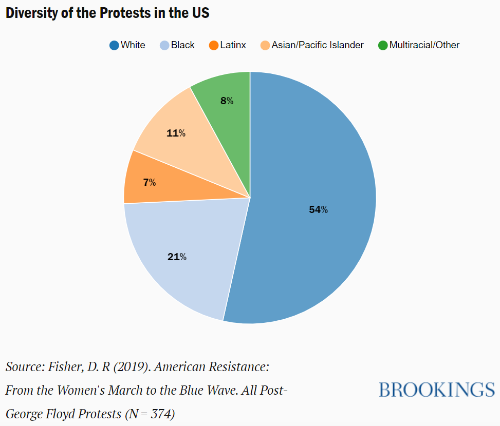Diversity protests data