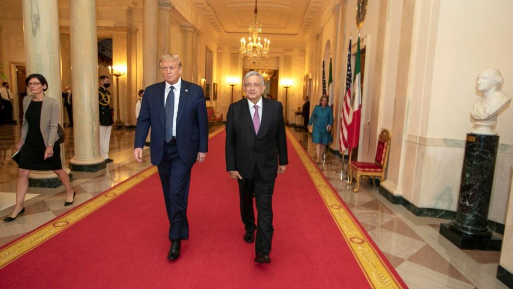 López Obrador's Washington visit played straight into Trump's hands