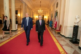 A visita de López Obrador a Washington jogou direto nas mãos de Trump 2