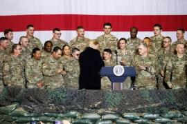 Trump quer as tropas do Afeganistão de volta ao Natal 2