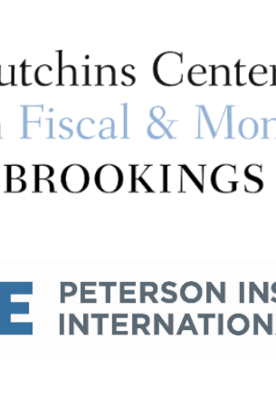 Hutchins and PIIE logo