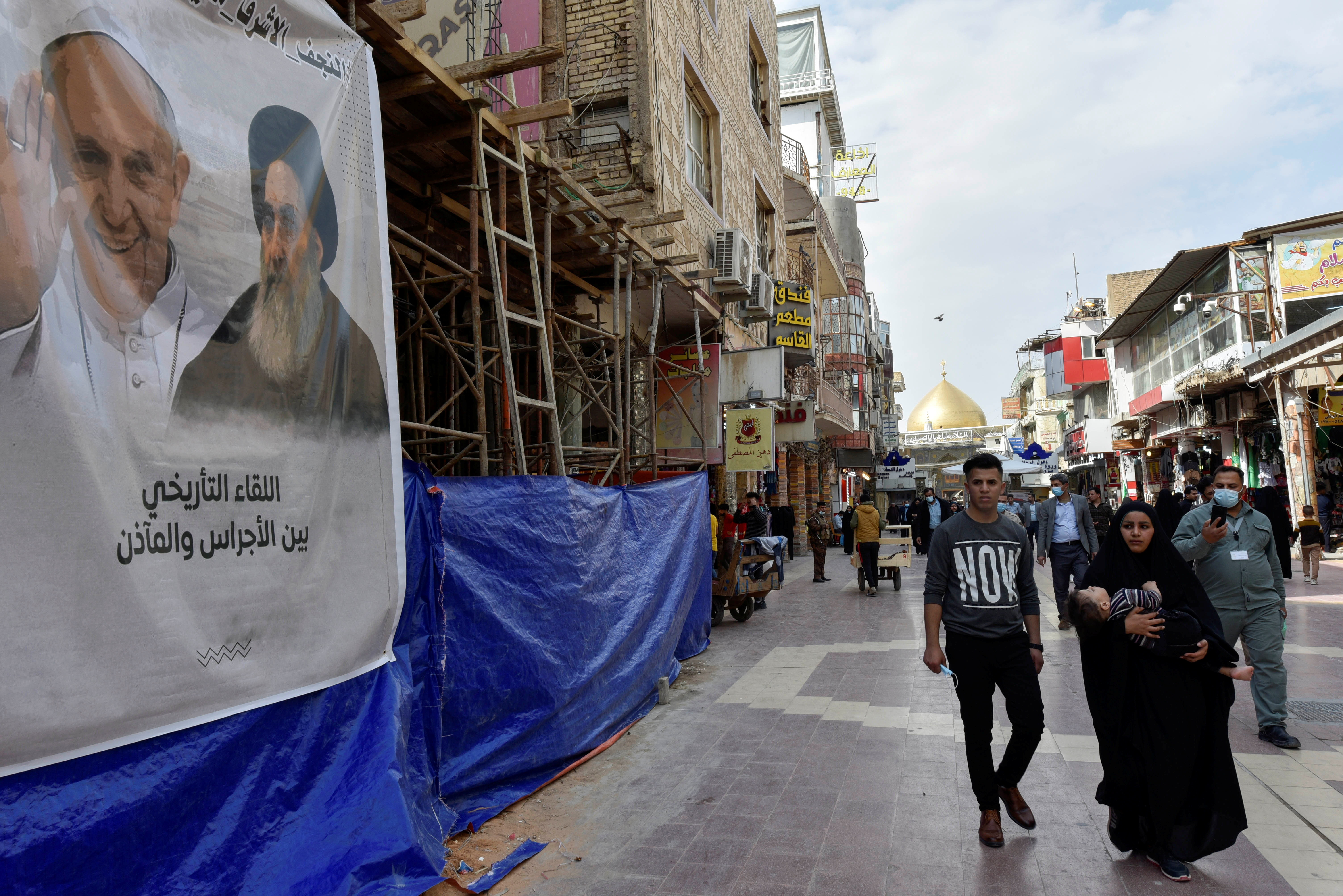 The pope goes to Najaf: The person and the institution of Sistani
