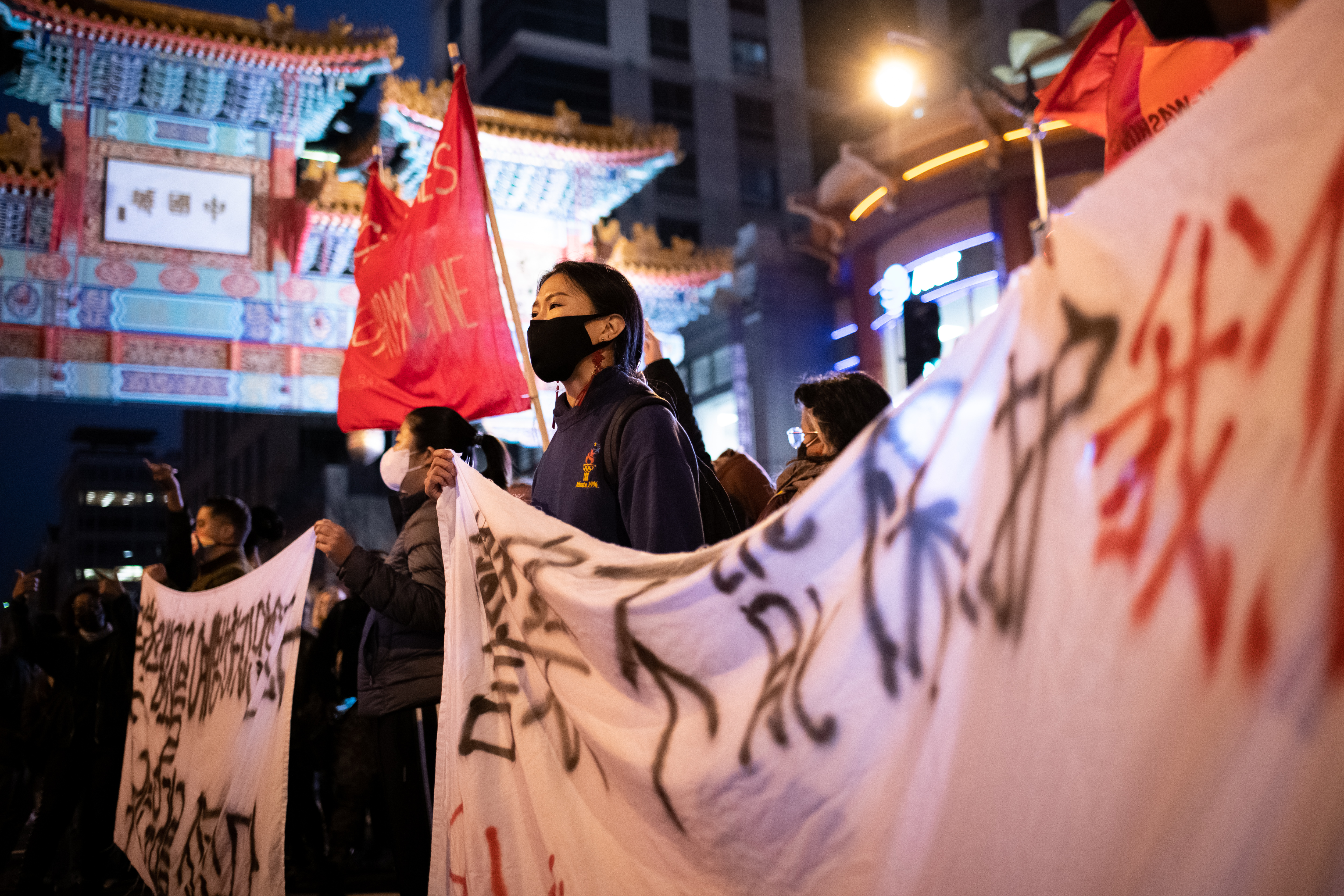 Asian hate crimes rally