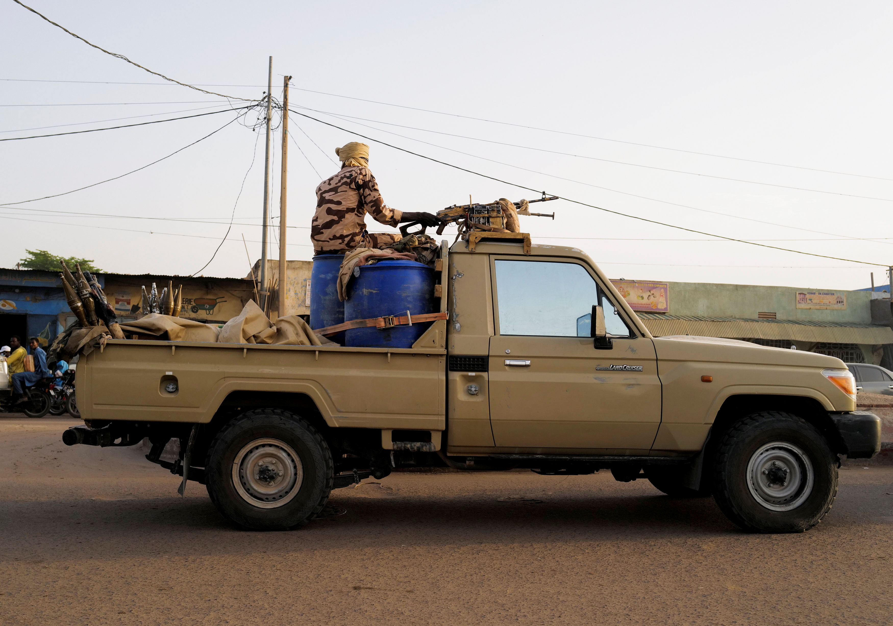 Fragility in Chad and counterterrorism strategies in West Africa
