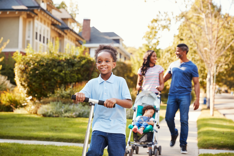 www.brookings.edu: Neighborhood segregation persists for Black, Latino or Hispanic, and Asian Americans