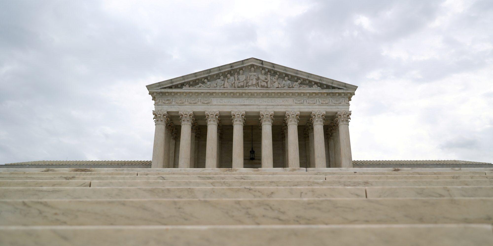Cover photo of supreme court
