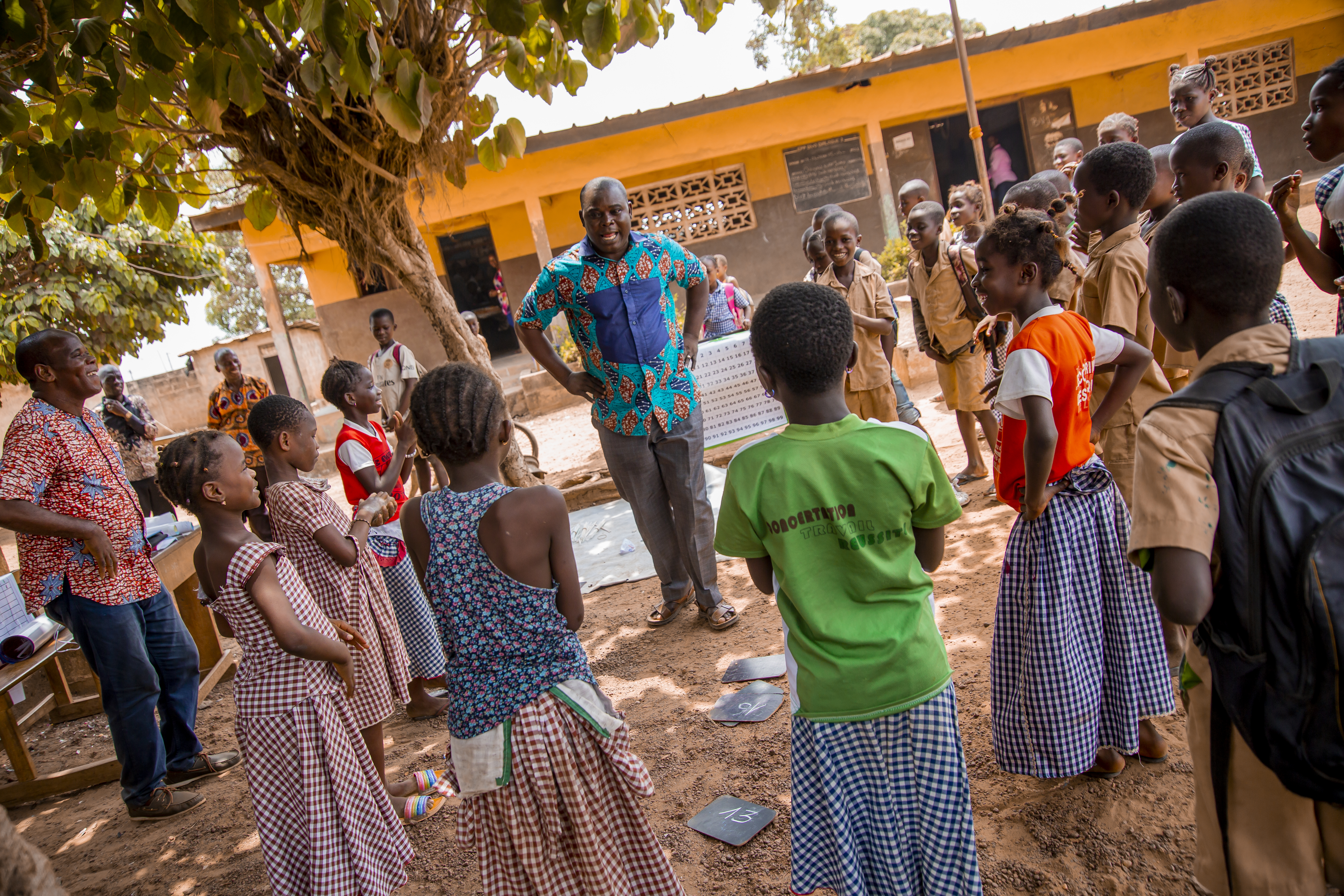 Teaching at the right level in Cote d'Ivoire